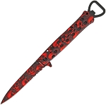 Linerlock Red Skull A/O      Brand: Black Legion