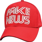 Fake News Hat Red