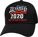 Trump 2020 Hat Black