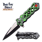 DARK SIDE BLADES DS-A021GN SPRING ASSISTED KNIFE