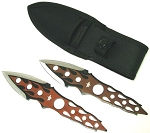 FLAME Throwing Knife Set