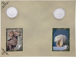 Collectible Coins Sheep Bear
