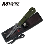 MTech USA MT-20-37GN FIXED BLADE KNIFE 7.5