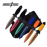 PERFECT POINT PP-081-6M THROWING KNIFE SET 6.5