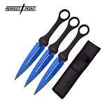 PERFECT POINT PP-105BL-7-3 THROWING KNIFE 3PC SET 7