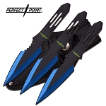 PERFECT POINT PP-595-3BL THROWING KNIFE SET 5.5