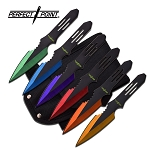 PERFECT POINT PP-595-6MC THROWING KNIFE SET 5.5