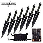 PERFECT POINT RC-040-6CS THROWING KNIFE SET 6.5