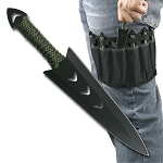 PERFECT POINT RC-040-6 THROWING KNIFE SET 6.5